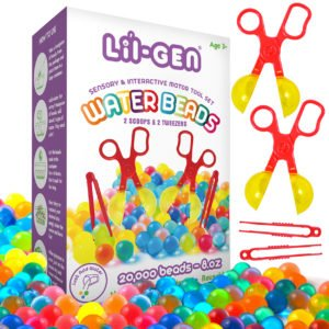 Water Beads with Fine Motor Skills Toy Set